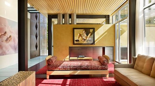 Contemporary Two-Storey House for the Art Lover