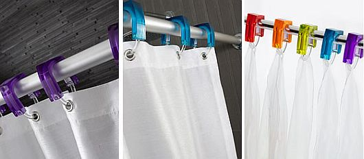 High-end shower curtain rings 4