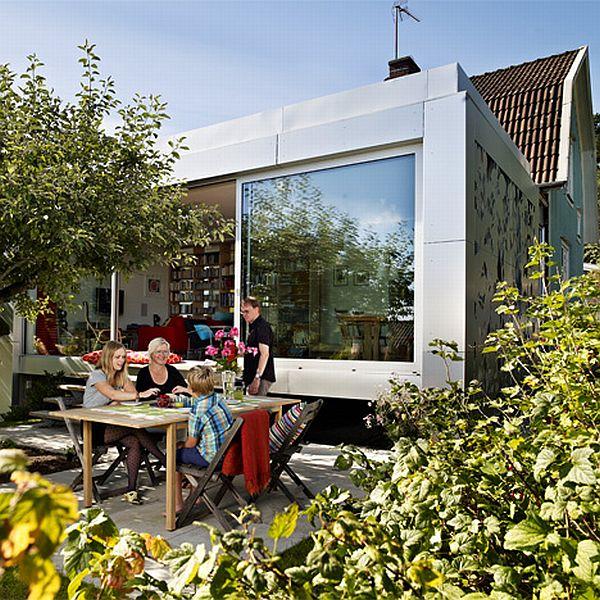 Aluminum House by UNIT arkitektur ab 3