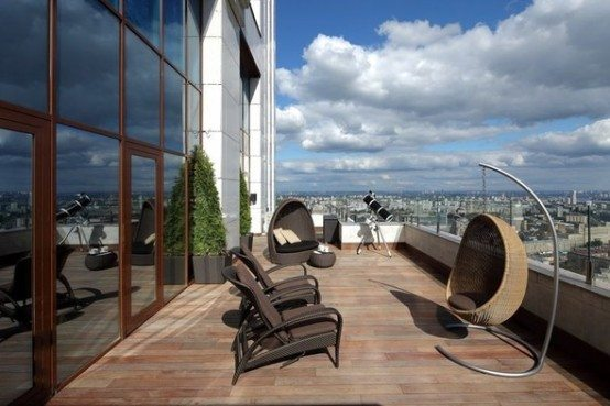 Luxury penthouse apartment Moscow 1