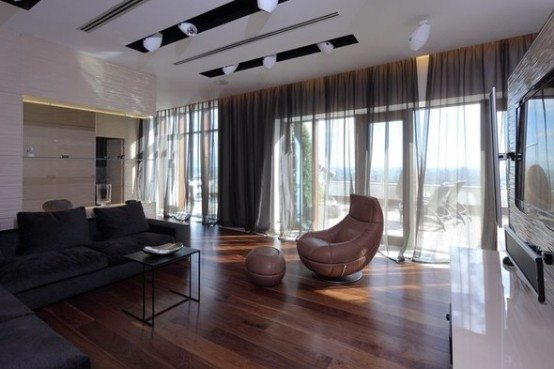 Luxury penthouse apartment Moscow 11
