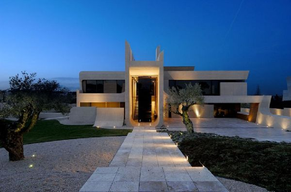A-cero Architects Concrete House in Madrid 1