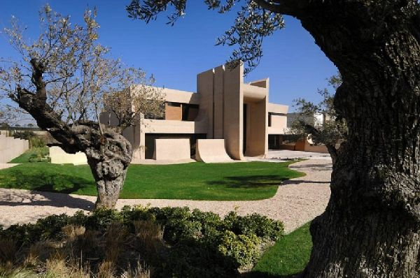 A-cero Architects Concrete House in Madrid 11