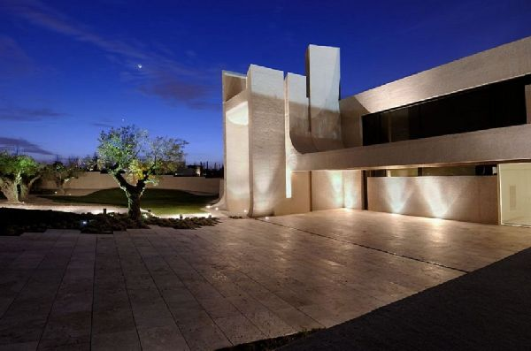 A-cero Architects Concrete House in Madrid 9