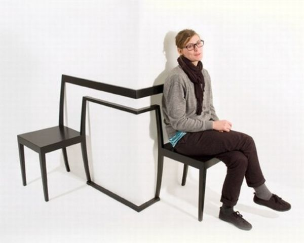 Interesting and unique corner chair1