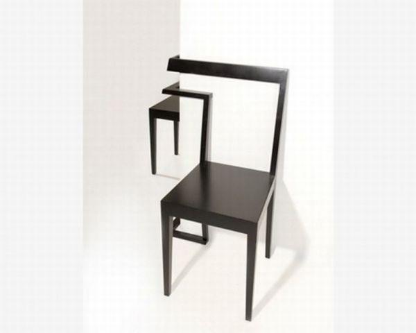 Interesting and unique corner chair2