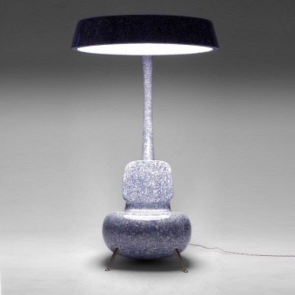 Anglerfish Chair With A Big Lamp 6