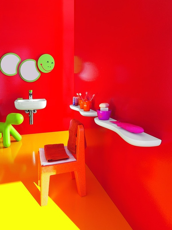 Florakids Bathroom by Laufen 4