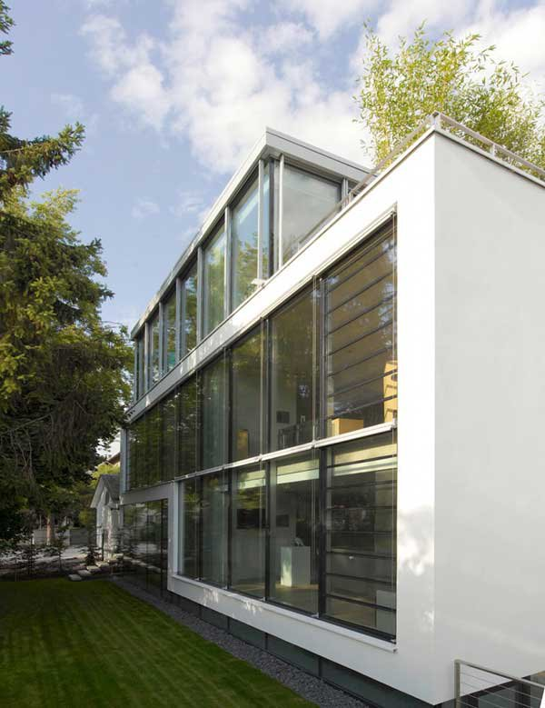 Four-Story High House R by Architect Roger Christ 12