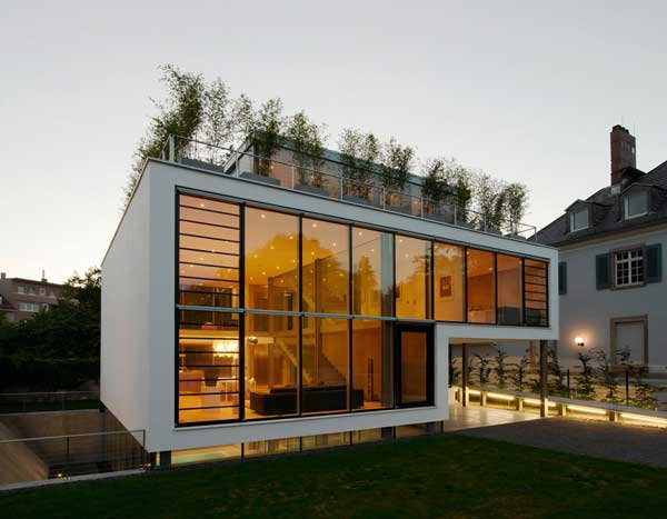 Four-Story High House R by Architect Roger Christ 2