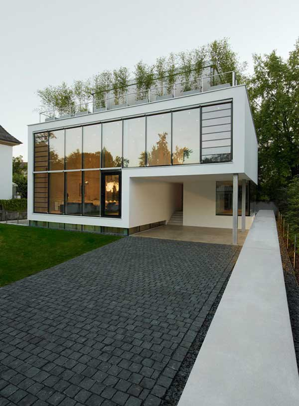 Four-Story High House R by Architect Roger Christ 4