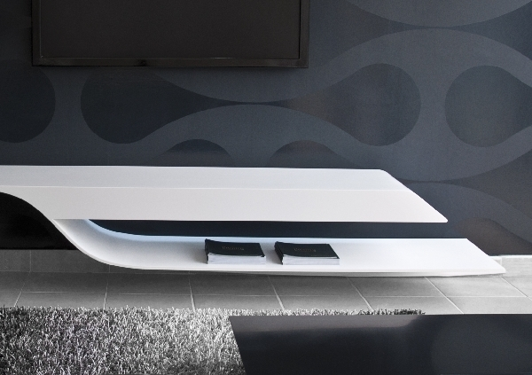 TV Unit With a Futuristic Design by Erhan Afsaroglu 3