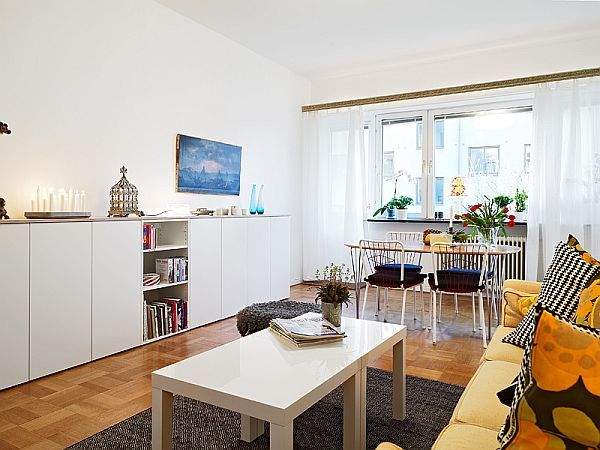 Bright Cozy White Furnished Apartment 8