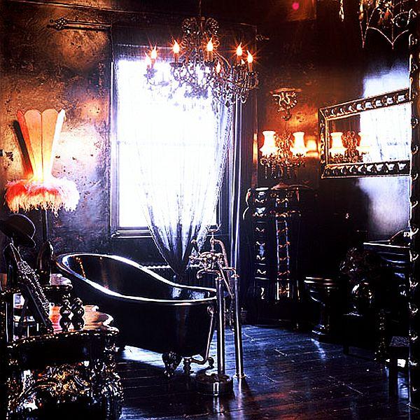 Gothic Inspired bathroom interior