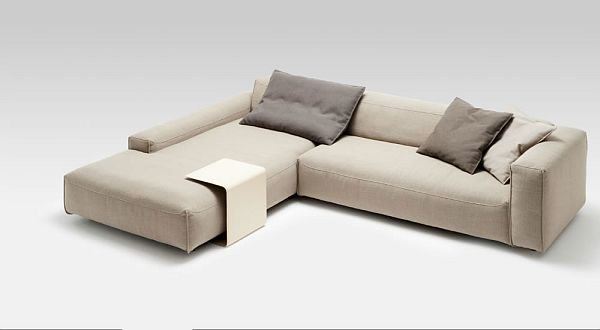 Leather Corner Sofa Rolf Benz MIO 5