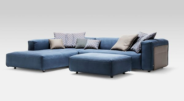 Leather Corner Sofa Rolf Benz MIO 6