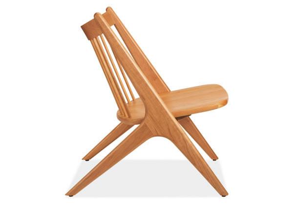Oskar Lounge Chair – sculpted wood 9