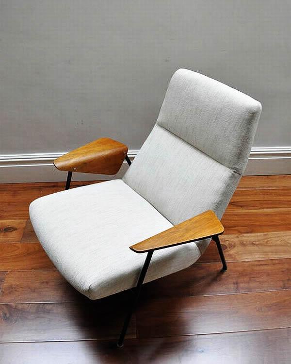 Re-upholstered Arno Votteler 350 chair 1