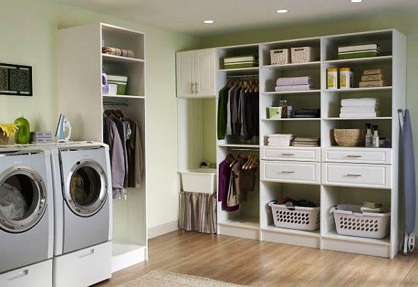 elegant laundry room design
