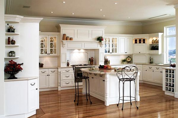 french kitchen remodeling with cabinets