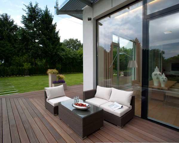Contemporary Eko Park Apartment Exterior garden