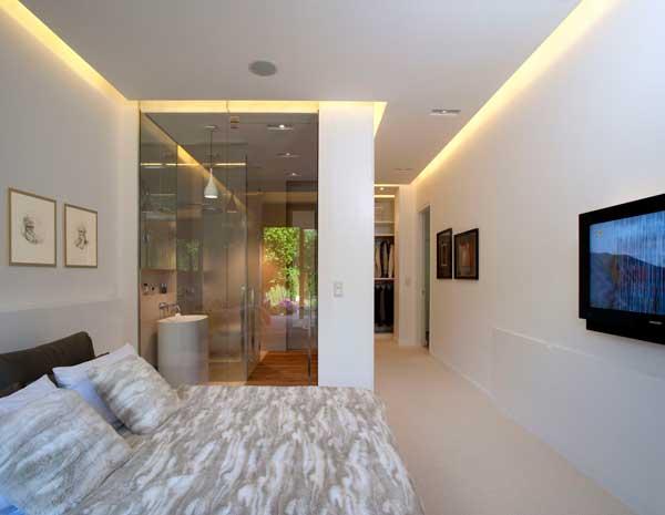 Contemporary Eko Park Apartment Interior – large bedroom