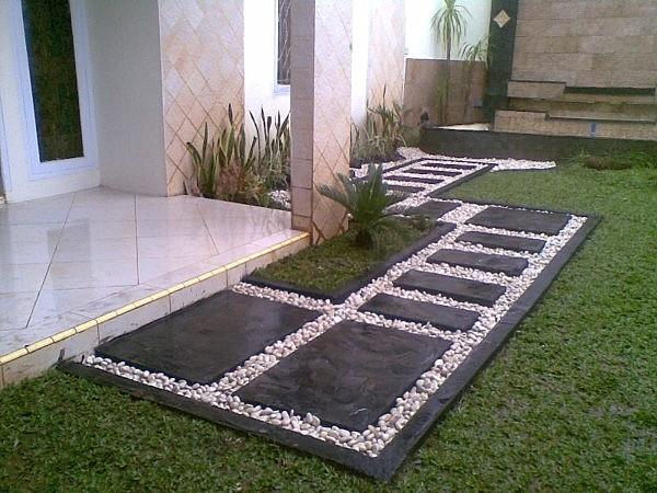 Footpath as Flowerbed