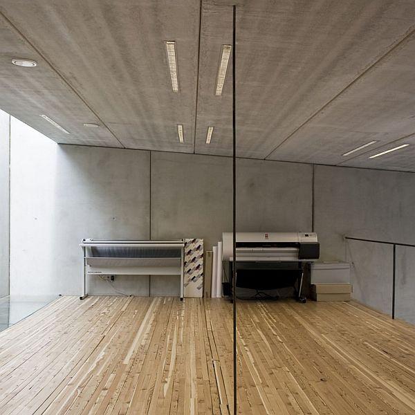 Innsbruck Atelier – Office Under the Garden 8