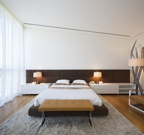 Mop House – contemporary bedroom design