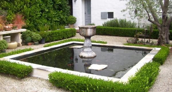 Square Koi Pond