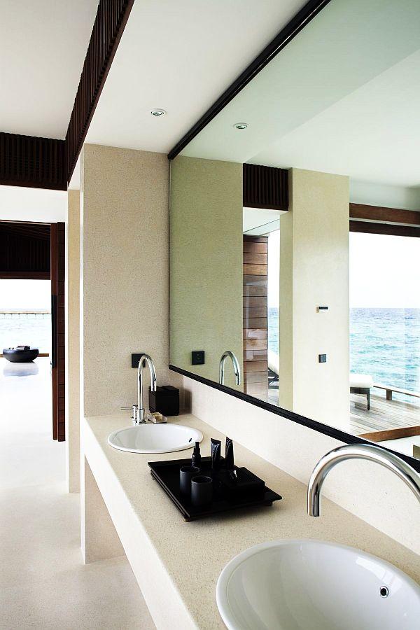luxury beach house bathroom