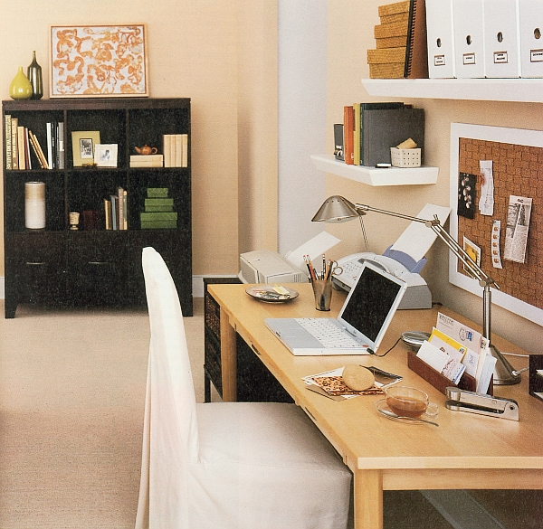stylish luxurious home office