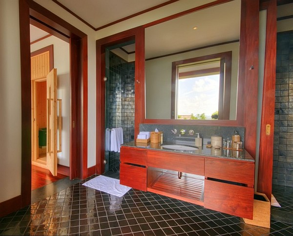 Thai Luxury Seaside Villa – bathroom design