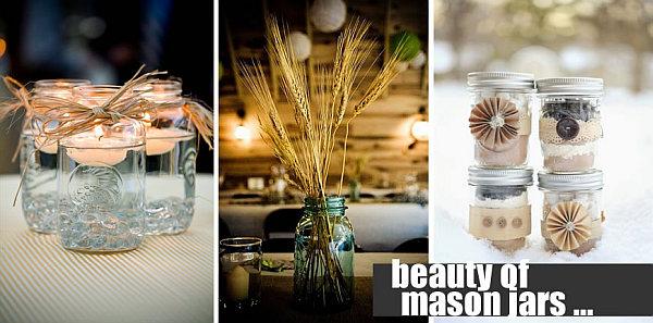 beautiful DIY mason jars