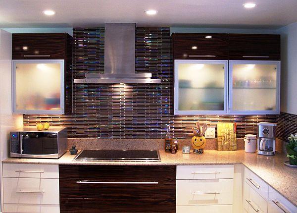 colorful kitchen backsplash tiles