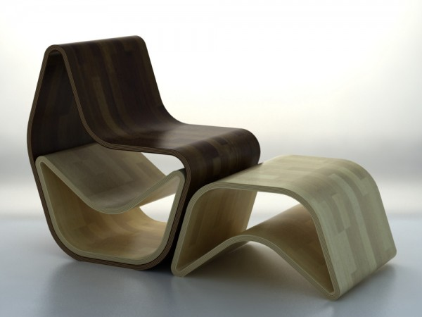 wooden GVAL Chair