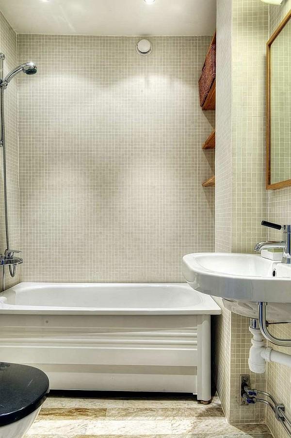 One Bedroom Apartment Stockholm 8 – bathroom design