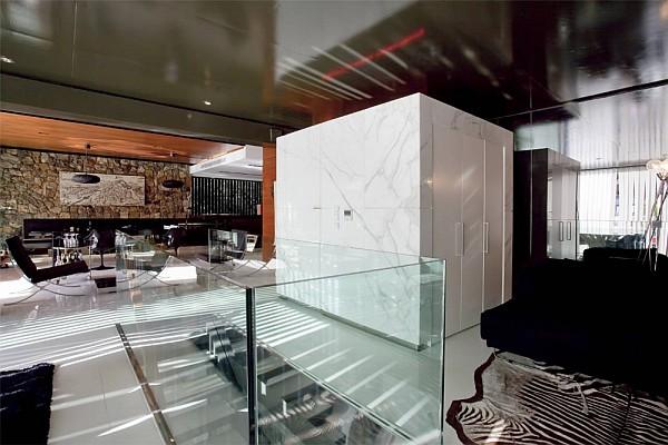 Luxury Greek Villa – contemporary living room design