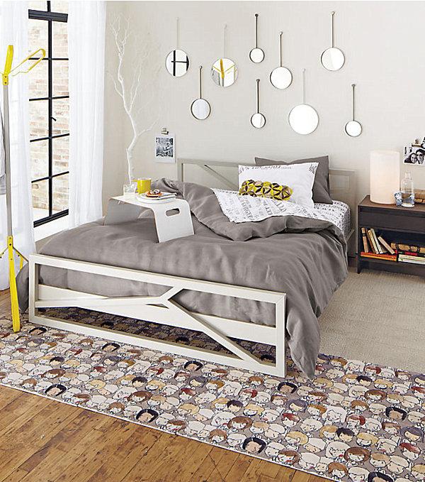 modern funky bedroom