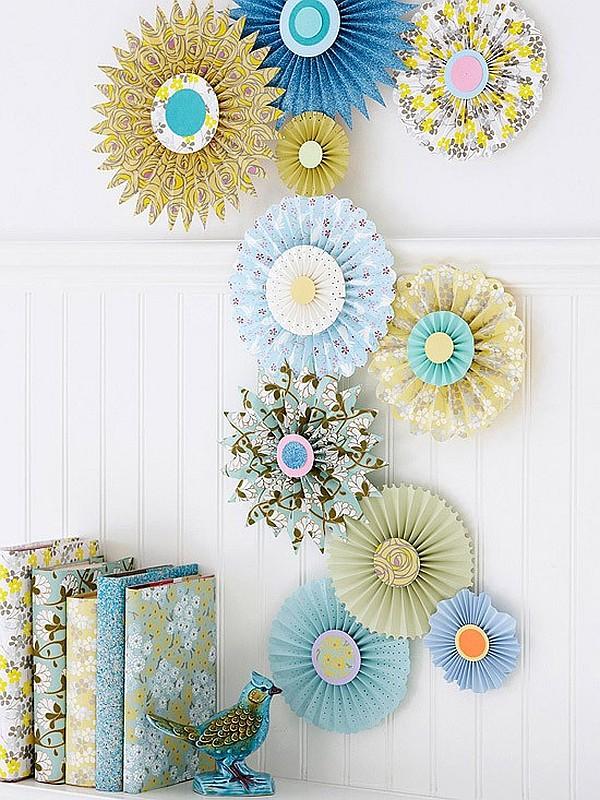 paper wall art crafts