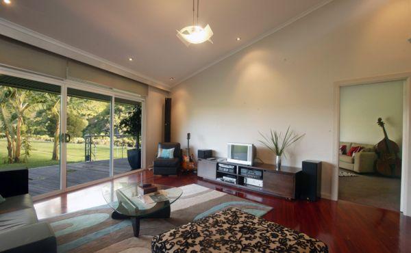 rotating house – minimalist living area