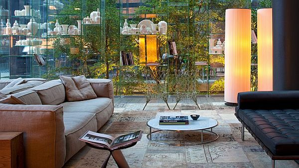 Conservatorium Hotel Amsterdam – lounge design