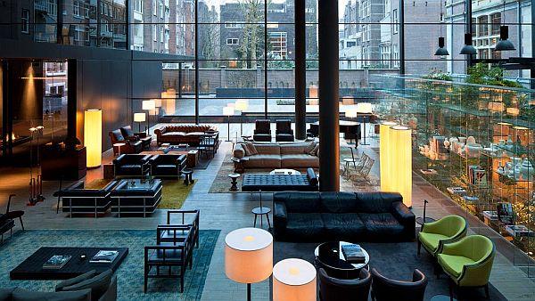 Conservatorium Hotel Amsterdam – lounge