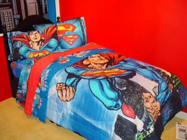 Superman Bedding for Tiny Tots