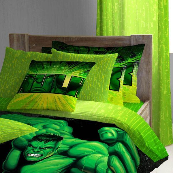 The Incredible Hulk bedding for kids