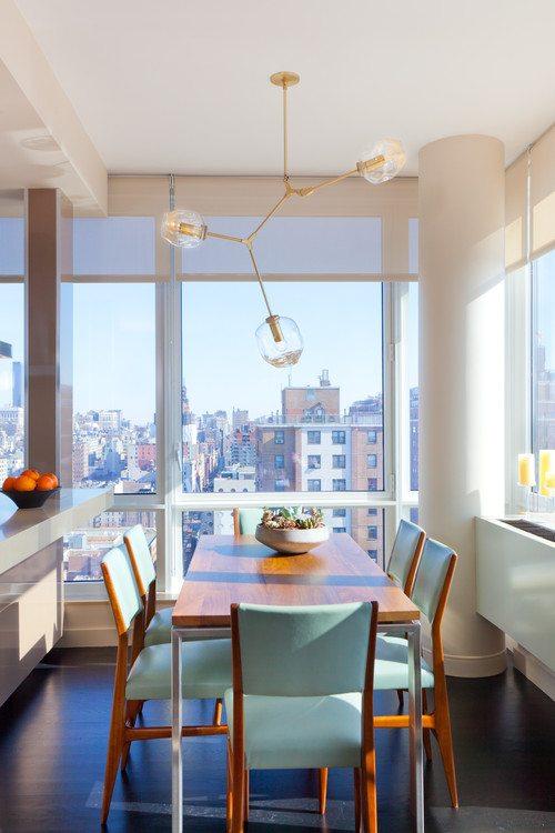 high ceiling new york city apartment
