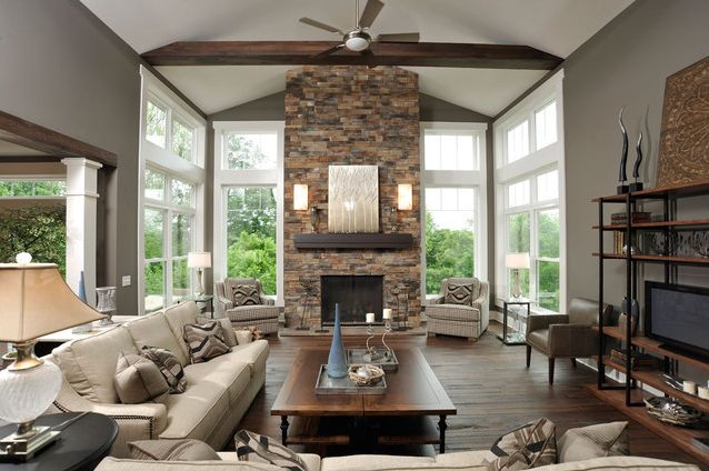 Cultured stone home design