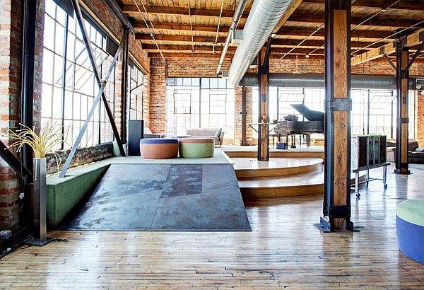 penthouse – industrial feel