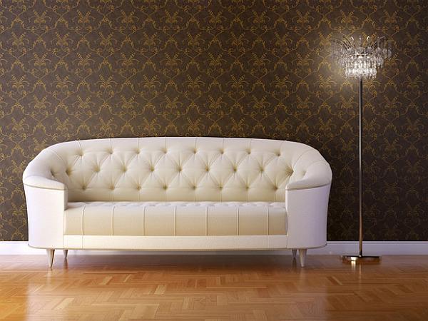 Comfortable cabriole modern sofa