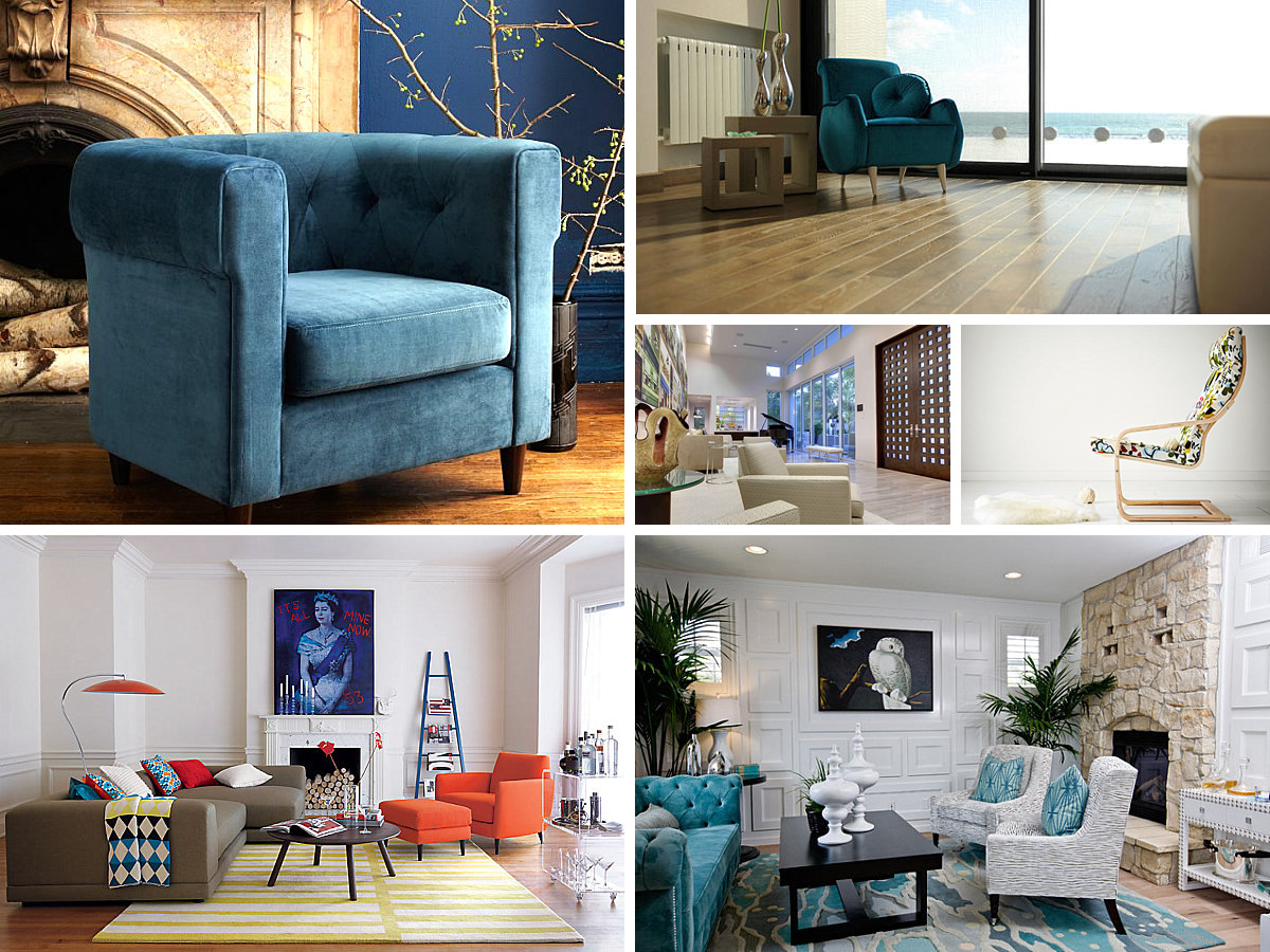 Armchairs That Blend Comfort and Style